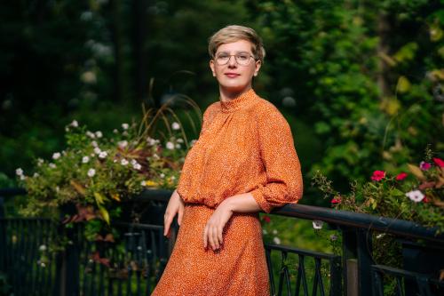 Kasia Chojnacka, księgowa online, pomagająca kobietom w zakładaniu własnych biznesów