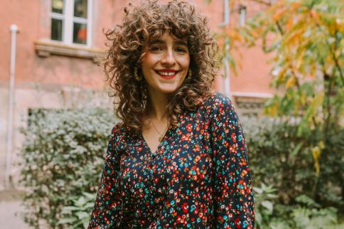 Maja Musznicka, redaktor naczelna magazynu internetowego Milk & Sun, właścicielka firmy Shine Studio